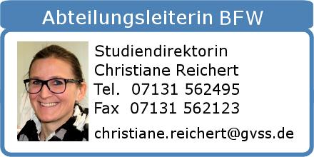 BFW Abteilungsleiterin Christiane Reichert