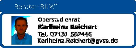 Berater BKWI Karlheinz Reichert