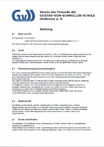Förderverein Satzung herunterladen ( PDF )