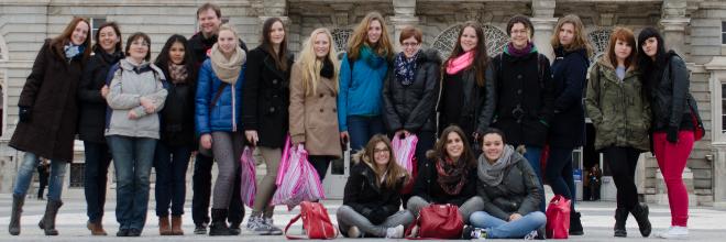 Gruppe Schüleraustausch Spanien 2014