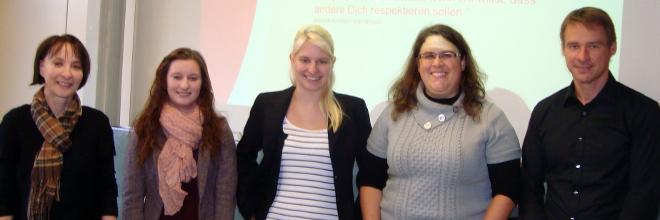 WG aktuell Kauflandteam und GvSS-Lehrer/-innen