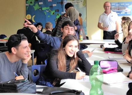 KBS aktuell Erasmus Blick ins Klassenzimmer