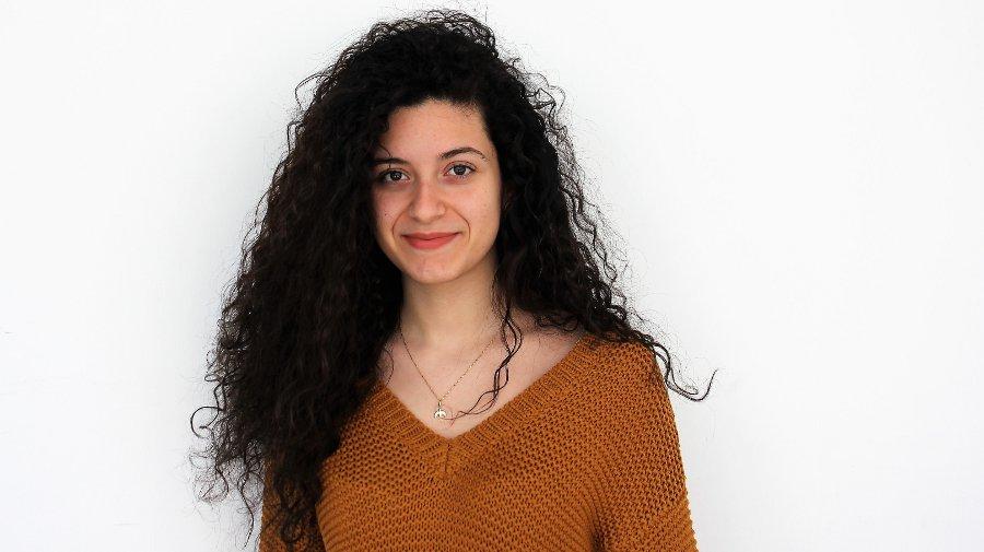 Melanie Puglia, Klasse WG 12/6, Vorstand im Jugendgemeinderat der Stadt Heilbronn
