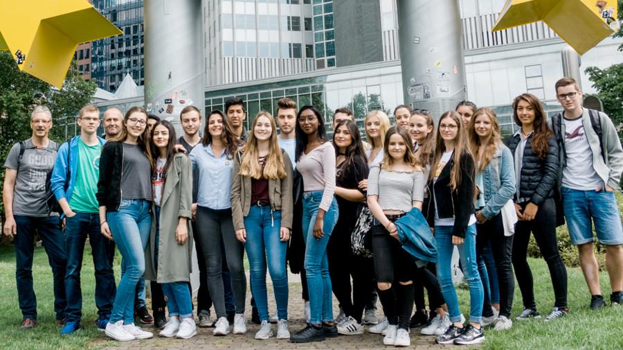 Jahresausflug WG 11/3 Frankfurt
