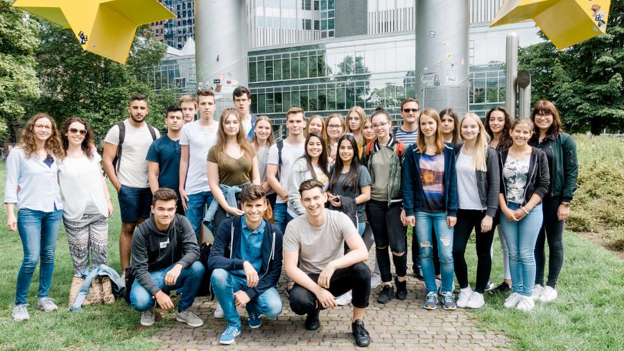 Jahresausflug WG 11/2 Frankfurt