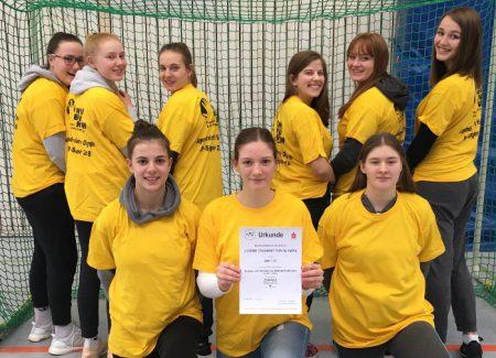 GvSS Handballmannschaft Mädchen