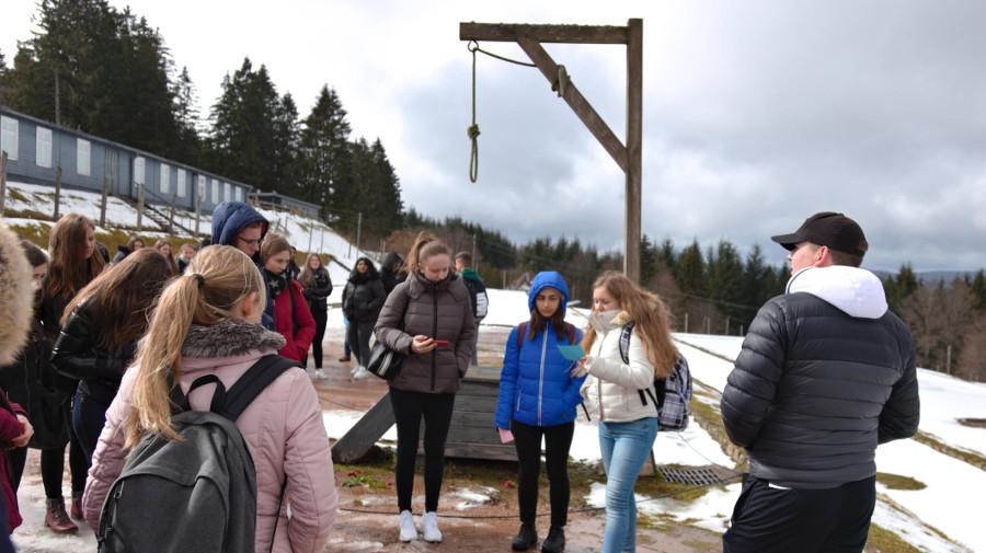 Besuch KZ Natzweiler